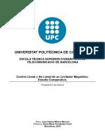 Control lineal y no lineal de un levitador magnetico.pdf