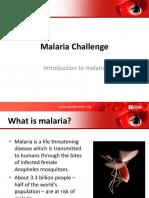 Malaria Challenge Presentation