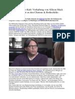 Hollywood Pädo-Kult - Verhaftung Von Allison Mack (Smallville) Führt Zu Den Clintons & Rothschilds-Bankendynastie