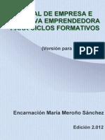 Manual de Empresa e Iniciativa Emprendedora Para Ciclos Formativos Version Para El Alumno