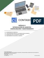 Módulo 4.- Introducción de Asientos. Configuración y Mantenimiento