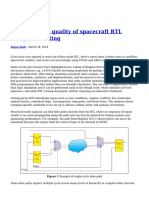 Improving the Quality of Spacecraft RTL Using HDL Linting (1)