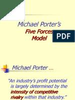 Porter's Five Forces 2003