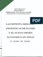 Las Setenta Semanas Profeticas de Daniel - Plinio Mendieta