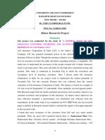 Dr. Usha n. Patil Mrp Summary