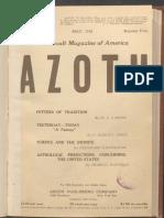 Azoth, May 1918