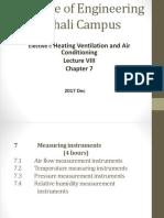 Lecture VIII Ch_7