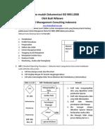Cepat Dan Mudah Dokumentasi ISO 9001 2008 1