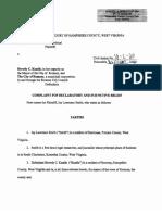 Smith v. Keadle, et.  al. FOIA suit (Hampshire Circuit Court, case No. 18-C-20)