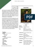 Tomás Moro - Wikipedia, La Enciclopedia Libre