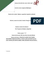 Formato de Programa de Higiene y Seguridad 2017 Ld