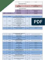 Marisiensis Schedule