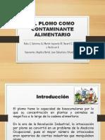 Diapositivas de Plomo