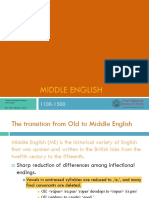 Middle English PPT