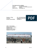 Lpg Tank 30 Ton & Piping Manual