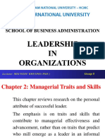 Chapter 2 Managrial Traits and Skills