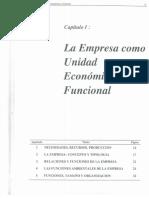 ILLANES - El Sistema Empresa (Cap 1)