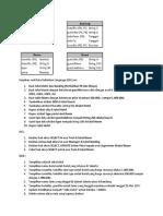 Latihan DDL dan DML