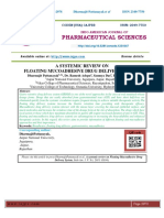 A SYSTEMIC REVIEW ON FLOATING MUCOADHESIVE DRUG DELIVERY SYSTEM