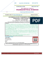 SYNTHESIS OF NEW PYRIMIDINE DERIVATIVES AS POTENTIAL ANTICANCER AGENT