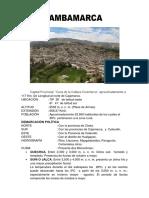 Hisotria de Bambamarca