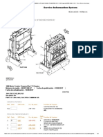 16m Motor Grader b9h00001-Up (Machine) Powered by c13 Engine(Sebp41mero de Pieza
