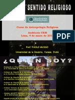 Charla Antropologia Religiosa 2016 I Ciencia y Religiosidad Musso