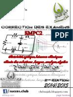 exam electrostatique