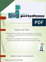 Seccion 1 Taller de Periodismo