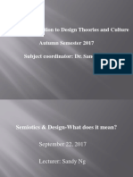 SD3082 Sept.22 Lecture-Semiotics & Design