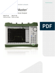 Spectrum Master MS2712E and MS2713E Product Brochure