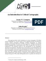 Critical Cartography
