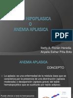 Anemia Hipoplasica