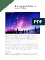 ELF-Wellen - Die Schleichende Gefahr Von Elektromagnetischen Wellen