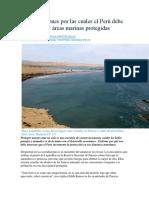 Cinco Razones Por Las Cuales El Perú Debe Crear Áreas Marinas Protegidas