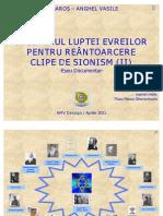 SIONISMUL - GENEZA REINTOARCERII DE LA VIZIUNE LA FAPT - CLIPE DE SIONISM (II)