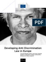 Developing Anti-discrimination Law in Europe