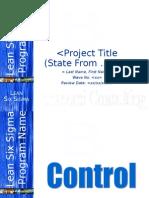Bonacorsi Consulting Control Master Template