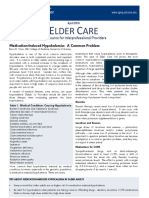 Elder Care for Hypocalemia