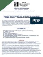 Condorcet Réunion Grands chantiers à Aix-en-Provence 20 Mars 2018