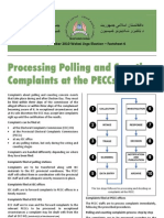 AFGHANISTAN Electoral Complaints Commission 2010 Factsheet N°6