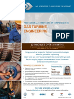 EIT Course Gas Turbine Engineering CGT Brochure