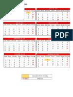 Calendario Global y Calendario de Obra