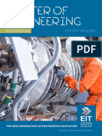 EIT Masters Engineering Mechanical MME Brochure