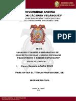 TESIS T036 - 70248235 - Titulo Profesional de Ingeniero Civil