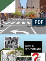What is Pedestrian