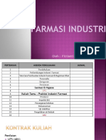 1.Pendahuluan Farmasi Industri