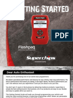 Superchips Flashpaq User Manual