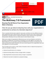 The McKinsey 7S Framework - Strategy Skills From MindTools