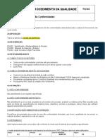 PQ 022 - Controle de Não Conformes